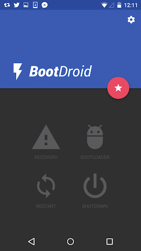 Boot Droid Reboot