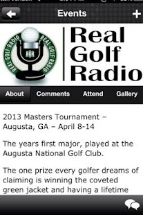 Golf Radio- screenshot thumbnail