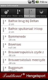 Water informatie - screenshot thumbnail