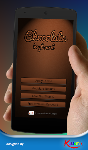 Chocolate Keyboard Theme