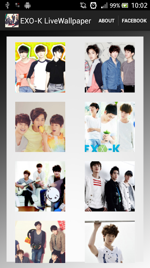 EXO-K Live Wallpaper - screenshot