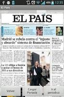 Screenshot of International Newspapers