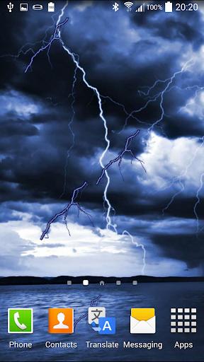 폭풍 애니메이션 배경 화면