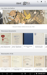 Gallica - screenshot thumbnail