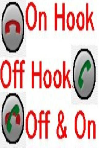 OnHook & OffHook Button Droid - screenshot