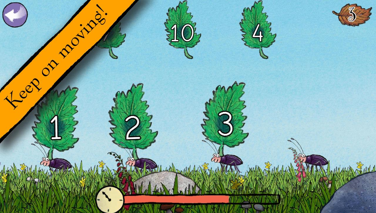 Gruffalo: Games- screenshot