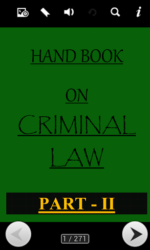 HAND BOOK ON CRIMINAL LAW 2