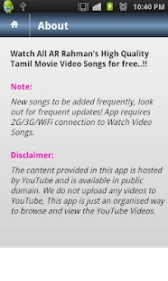 AR Rahman Tube - Tamil - screenshot thumbnail