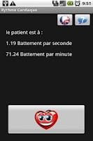 Screenshot of heartbeat