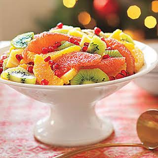 Winter Fruit Salad.