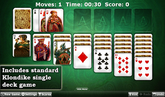 Solitaire Double-Deck HD - screenshot thumbnail