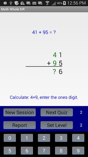 Math Whole DR