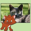 cats puzzles for kids icon