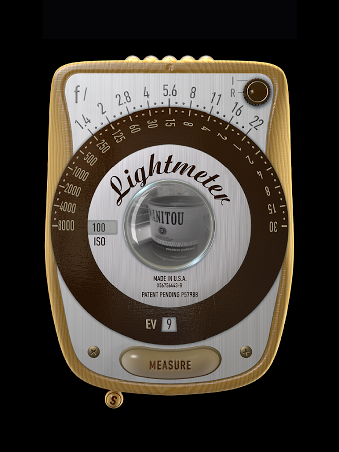 LightMeter (noAds)- screenshot