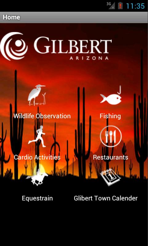 Gilbert Riparian Institute- screenshot