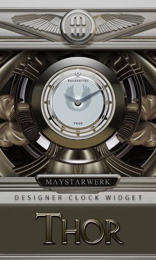 Clock Widget Thor