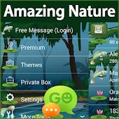 GO SMS Pro Amazing Nature