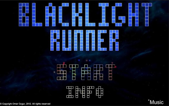 Blacklight Runner apk screenshot