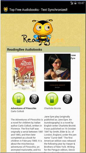 Text Synchronized Audiobooks