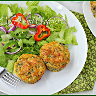 Spinach and Sausage Muffin Quiches (Low-Carb).