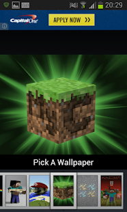 Wallpapers for Minecraft - screenshot thumbnail