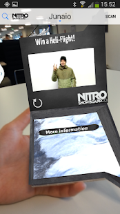 Junaio Augmented Reality - screenshot thumbnail