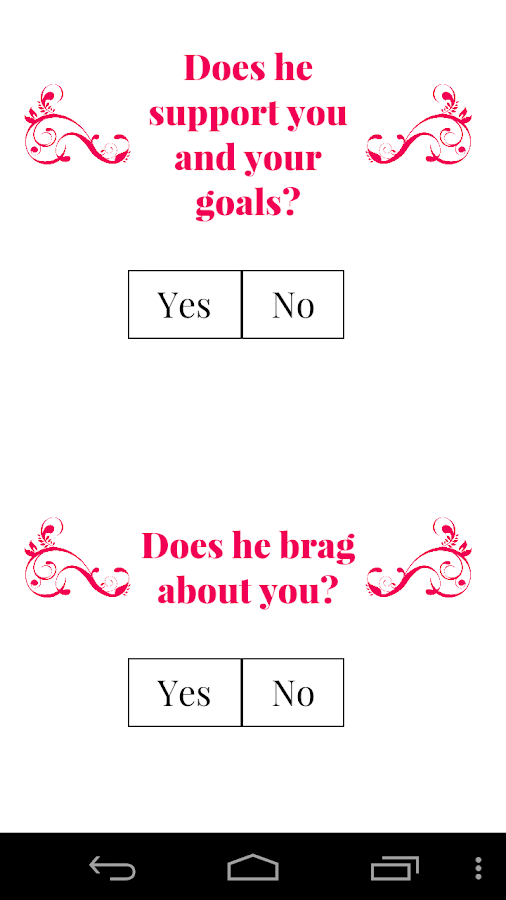 Does He Love Me Quiz For Adults 4