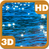 Alpine Lake Light Spots 3D