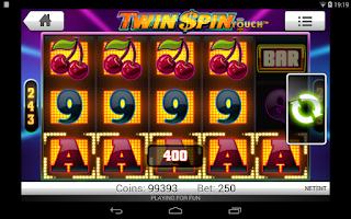 Screenshot of Twin Spin Slots