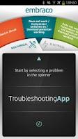 Screenshot of TroubleshootingApp Embraco