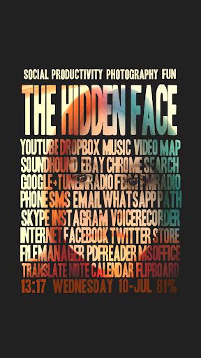 Hidden Face for ssLauncher OR