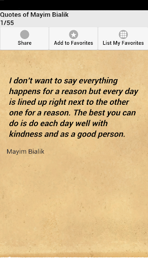 Quotes of Mayim Bialik