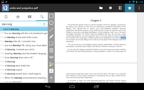 qPDF Notes Pro PDF Reader- screenshot thumbnail