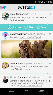 TweetsPie Screenshot 2
