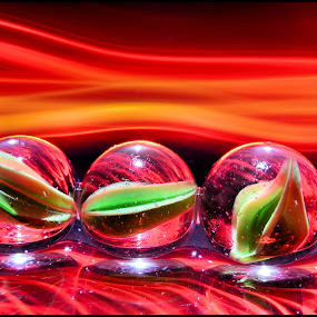 Marbles by Brian Rogers - Abstract Macro ( color, light painted, glass, marbles, glass marbles, Lighting, moods, mood lighting )