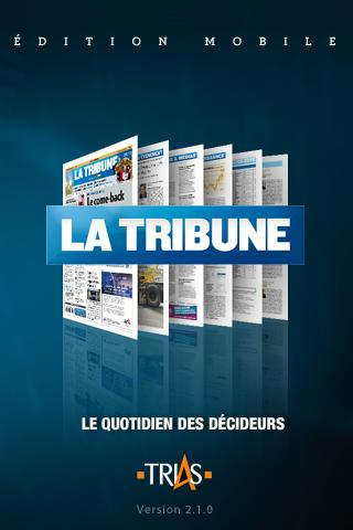 La Tribune pour tablettes- screenshot