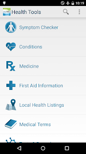 WebMD for Android Screenshot 1