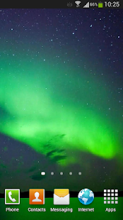 Aurora Borealis Live Wallpaper Screenshot