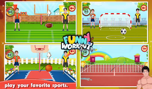 Funny Workout- screenshot thumbnail