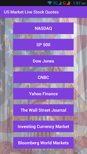 US Market Live Stock Quotes