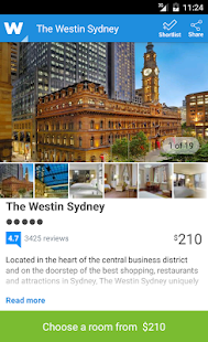 Wotif hotel bookings on the go - screenshot thumbnail