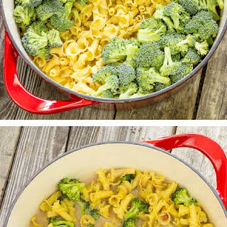 One Pot Wonder Pasta Con Broccoli.
