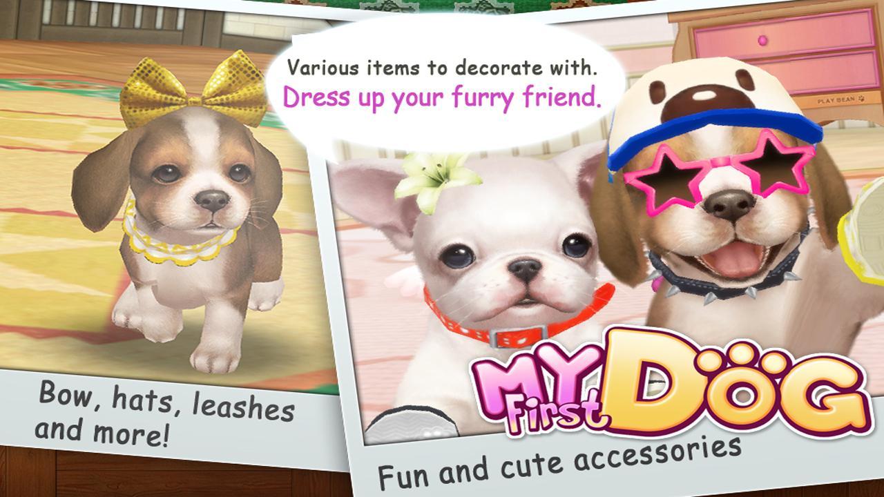Dress up your pet game - Mydogs Screenshot