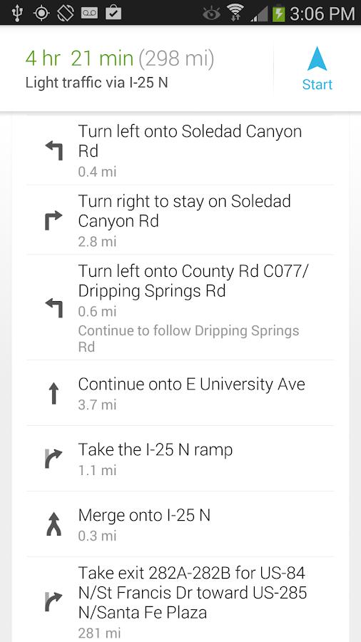 GPS Waypoints Navigator - screenshot