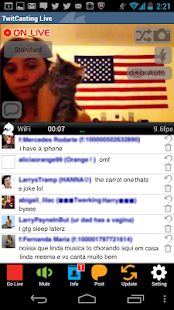 TwitCasting Live - (Free) - screenshot thumbnail