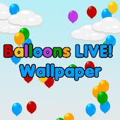 Balloons Live! Wallpaper