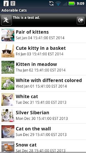 【免費個人化App】Adorable Cats Live Wallpaper-APP點子