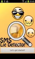 Screenshot of SMS Lie Detector