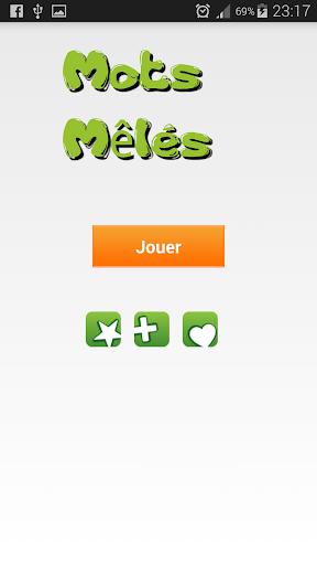 Grille de Mots Mu00ealu00e9s / Cachu00e9s 1.0 screenshots 2