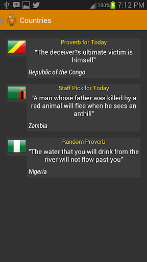 Proverbial African Proverbs